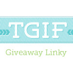 TGIF giveaway linky: Link up your current giveaways