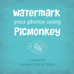 Watermark your photos using PicMonkey