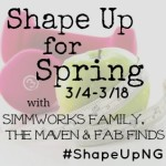 Shape Up For Spring Button 2