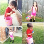 Wordless Wednesday with linky: Hunting down Easter eggs