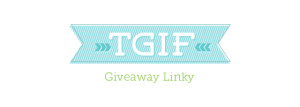 weekly giveaway linky
