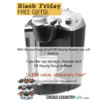 Black Friday deal on the Keurig K145 brewer