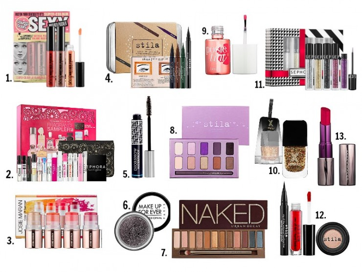 13 gift ideas for the make up lover on your shopping list