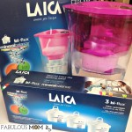 The Laica water filter system compliments your healthy lifestyle