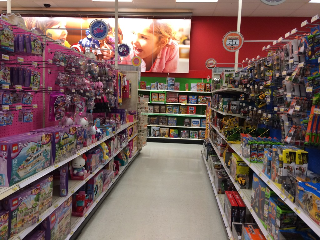 Target Toy Aisle : Quot girl toys v boy in honor of family