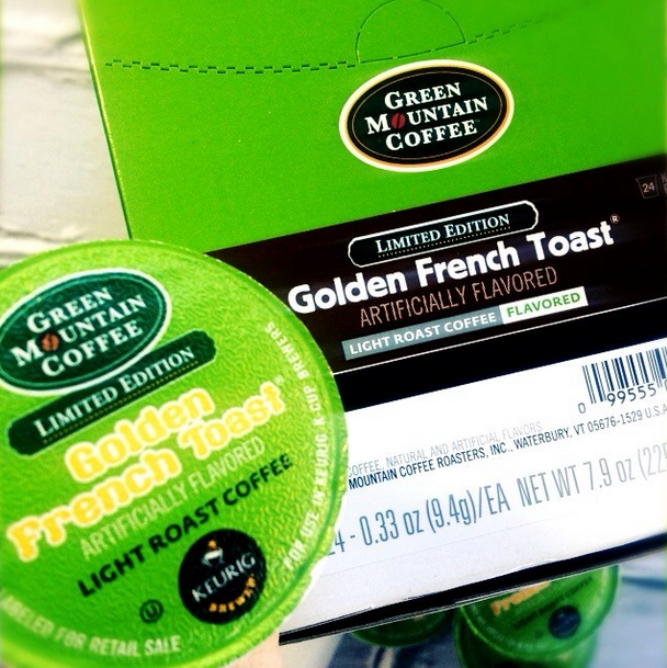 Golden French Toast coffee