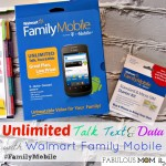 Unlimited Talk, Text and Data with Walmart Family Mobile #FamilyMobile