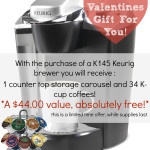 An Amazing Sale on K145 Keurig Brewers