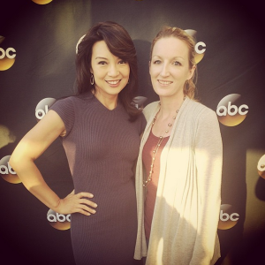 I met Ming-Na Wen of ABCs Marvel's Agents of S.H.I.E.L.D.