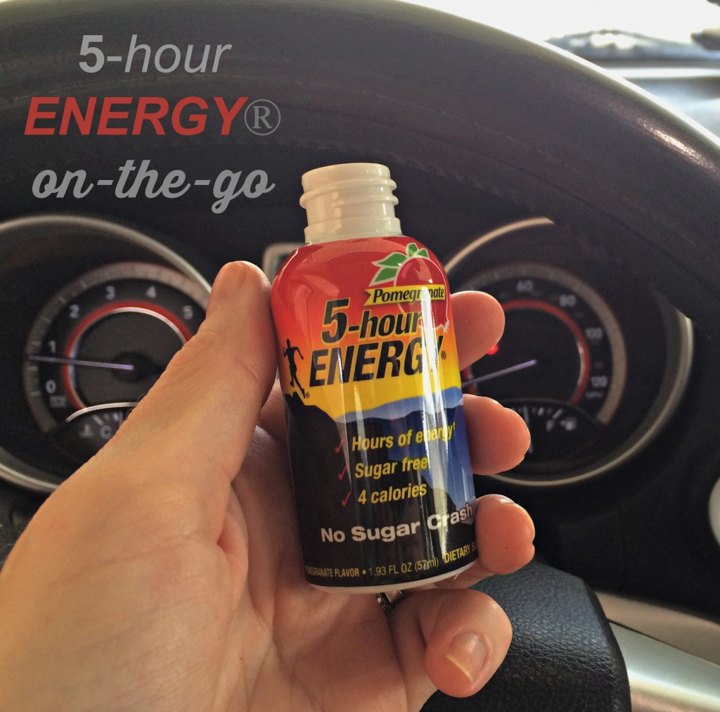 Energy shots on the go
