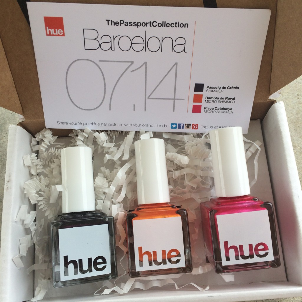 Square Hue nail polish review