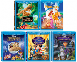 Disney Classics being released August 12, 2014