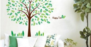 easy tree decals for walls