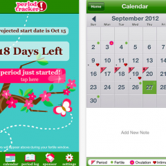 Period Tracker Lite iPhone app
