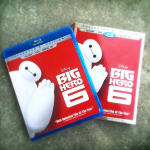 Big Hero 6 blu ray