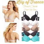 Lily of France French Charm Push Up Bra