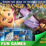 STRANGE MAGIC activity sheets